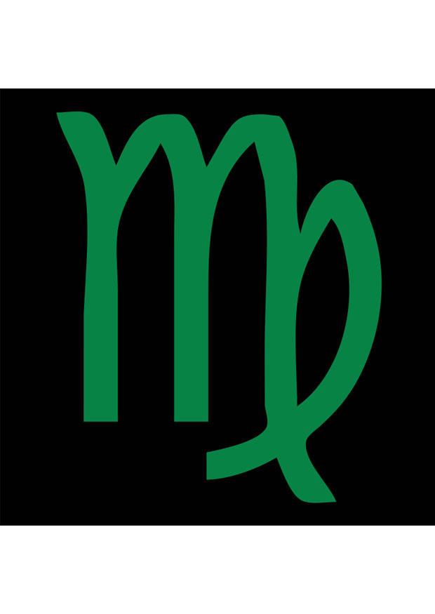 image signe astrologique - vierge