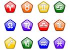 Image signes d'horoscope