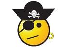 Image smiley de pirate