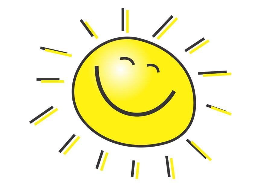 Image soleil - Images Gratuites à Imprimer - Dessin 28475