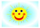 Image soleil joyeux