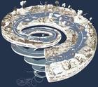 Image spirale géologique