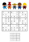 Image sudoku - enfants