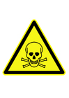 Images symbole de danger - substances toxiques
