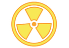 Image symbole nucléaire