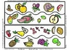 Image tableau de fruits
