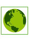 Image terre écologique