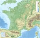 Image topographie de France