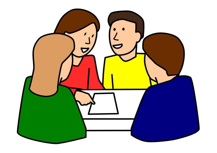 Image travail de groupe dessin 29489 - Dessin travail ...