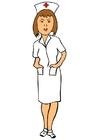 Image une infirmière