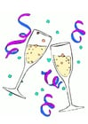 Image verres de champagne