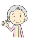 Image vieille femme