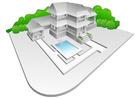 Image villa avec piscine