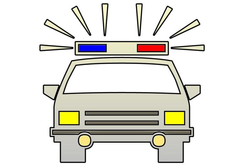 Image voiture de police dessin 28312 - Dessin de police ...