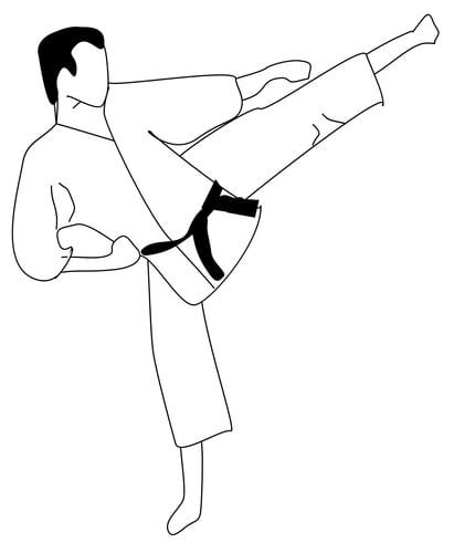 A quoi vous fait penser ce mot? (en images) - Page 2 Karate-t16116