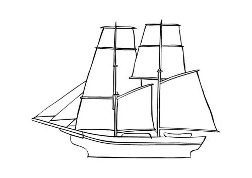 dessin navire