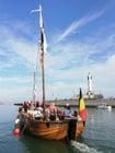 Photo bateau dans le port