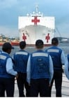 Photo bateau hôpital