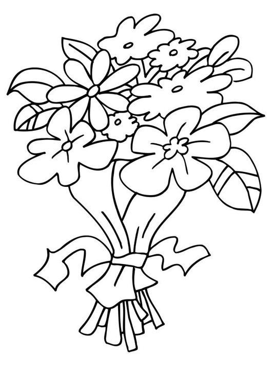 Dessin bouquet de fleurs beaux - Dessins de bouquets de fleurs ...