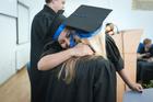 Photo chapeau de remise de diplôme