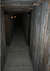 Photo couloirs dans une mine - reconstitution