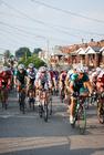 Photo course de vélo