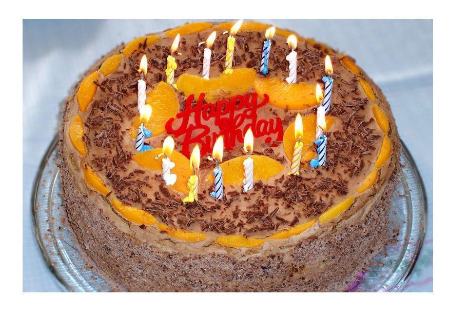 Photo gâteau d'anniversaire - img 7273