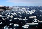 Photo glacier et iceberg