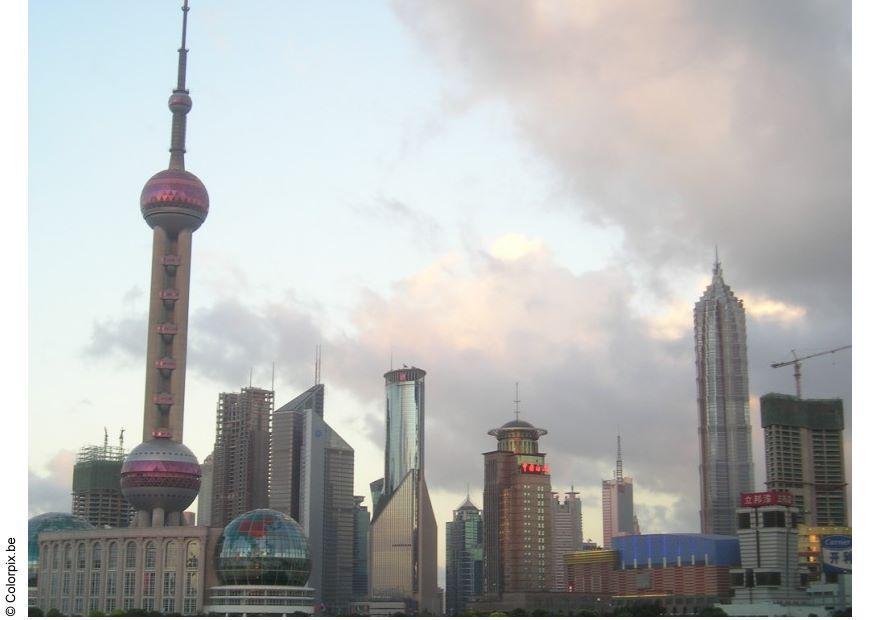 photo gratte ciel de shangai