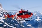 Photo hélicoptère de sauvetage
