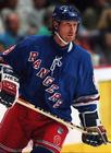 Photo hockey sur glace, Wayne Gretzky, New York Rangers