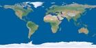 Photo la terre sans nuages, glaces polaires ou ombre