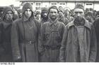 Photo Mauthausen-camp de concentration-soldats russes en captivité