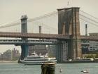 Photo New York - Brooklyn Bridge and Manhattan Bridge