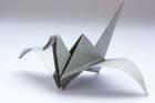 Photo origami - oiseau