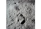 Photo premier pas sur la lune
