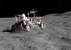 Photo promenade sur la lune