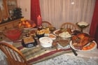 Photo repas de Thanksgiving