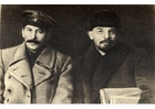 Photos Stalin et Lenin
