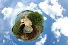 Photo Terre - effet panoramique