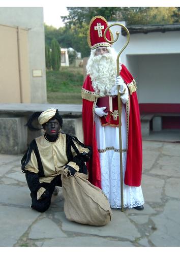 Photo Saint Nicolas et père fouettard