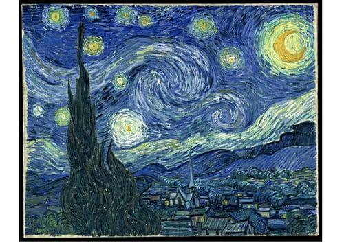 Image Nuit étoilée - Vincent Van Gogh