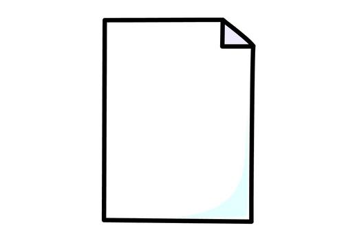 Papier qui traîne.. Une-feuille-de-papier-t10263